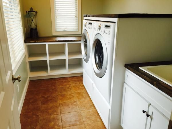 Laundry room cabinets do it yourself home projects from ana white laundry room cabinets diy projects solutioingenieria Images