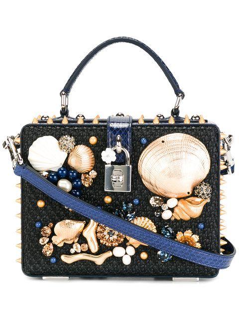 DOLCE   GABBANA Dolce Shoulder Bag.  dolcegabbana  bags  shoulder bags   hand bags  leather  crystal   9f631f23e8615