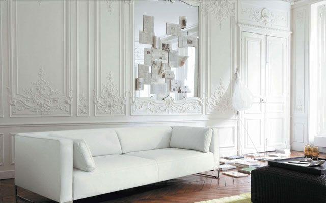 Decofilia trae diferentes formas para decorar casas con - Molduras para paredes interiores ...