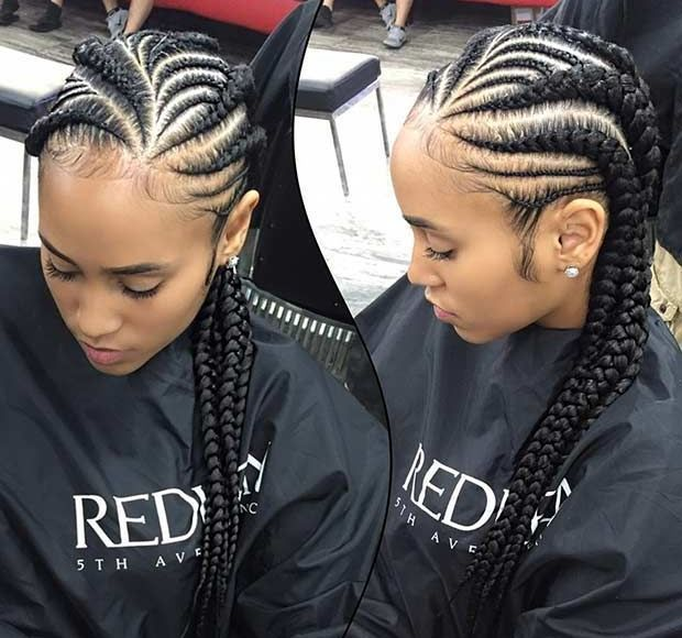Ghana Weaving All Back Styles African Hairstyles For Ladies Maboplus Ghana Braids Hairstyles Hair Styles Cornrow Hairstyles