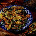 Spaghettis de carottes et courgettes à la marocaine - http://www.cuisineetvinsdefrance.com/,spaghettis-de-carottes-et-courgettes-a-la-marocaine,34602.asp