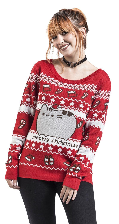 Meowy Christmas Pusheen Sweater Meowy christmas