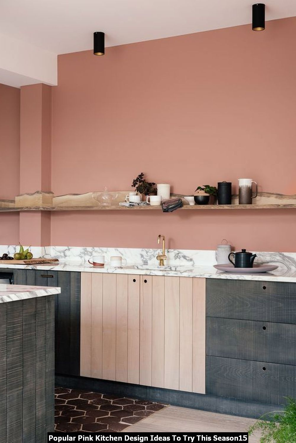 easy 20 popular pink kitchen design ideas to try this season in 2020 pink kitchen designs on kitchen decor pink id=73109