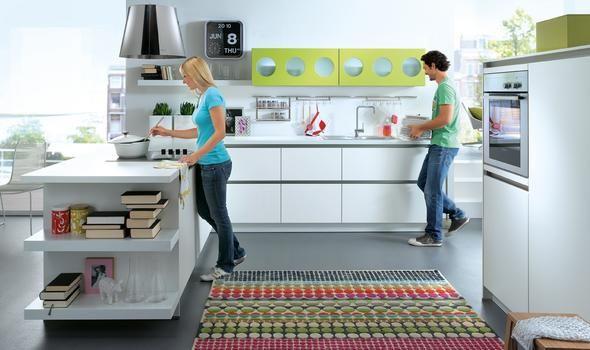 Küche Schüller. Coole Oberschränke | Küchen | Pinterest | Grün ... | {Schüller küchen landhausstil grün 61}
