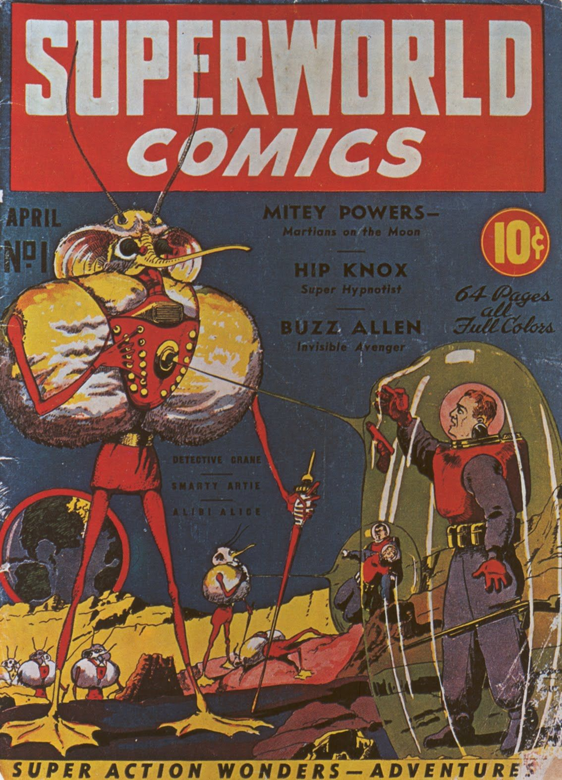 superworld comics the art of frank r paul pinterest comic