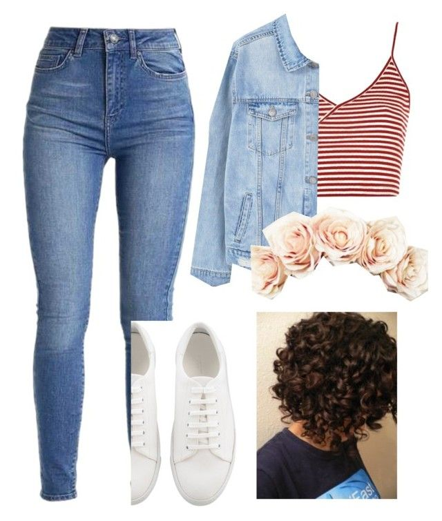 """""""Peaches & Créme"""" by eupastiche on Polyvore featuring Topshop, MANGO and Lulu in the Sky"""