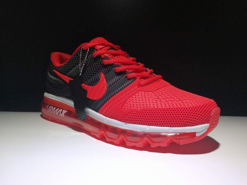 Official nike air max 2018 kup mens shoes black red