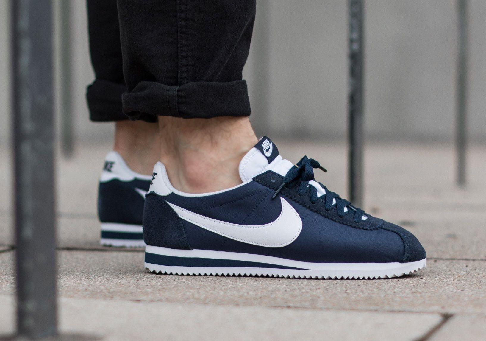 Athletic shoes · Nike Cortez Nylon: Navy
