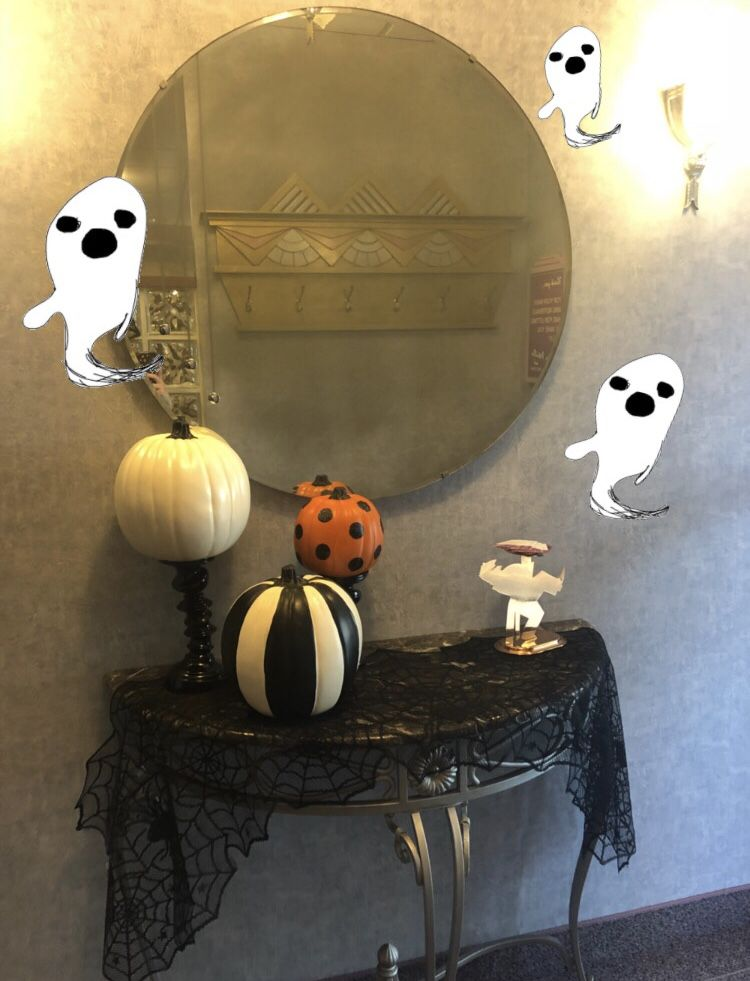 We're getting into the Halloween spirit here!