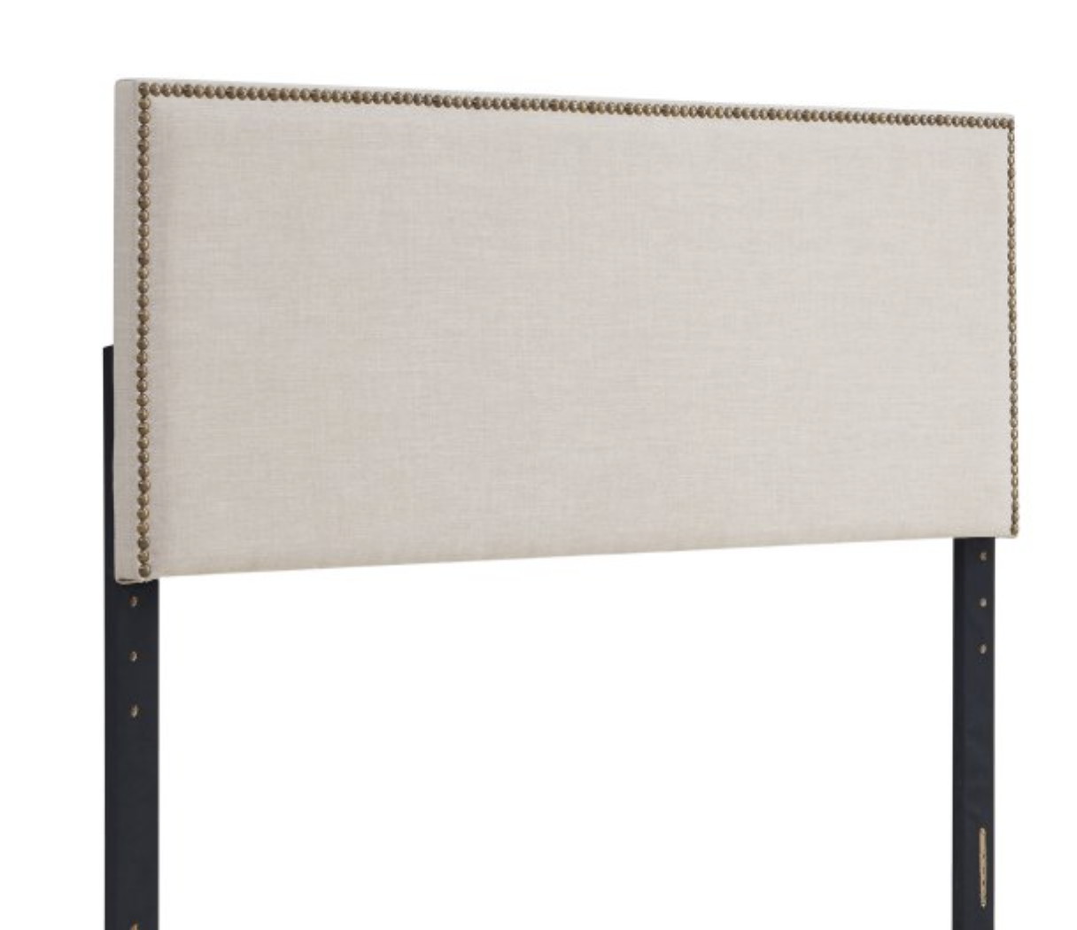 Mainstays Nail Head Trim Contemporary Upholstered