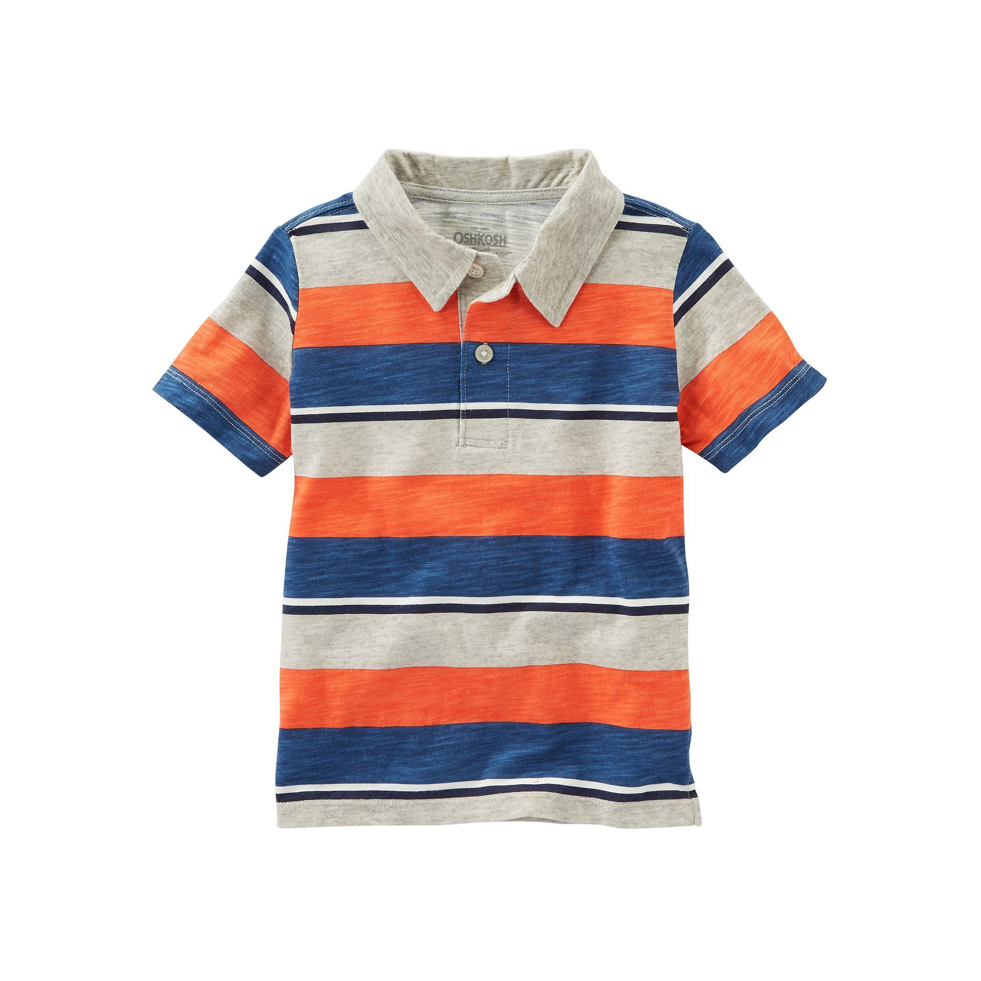 OshKosh BGosh Boys Short Sleeve Knit Polo