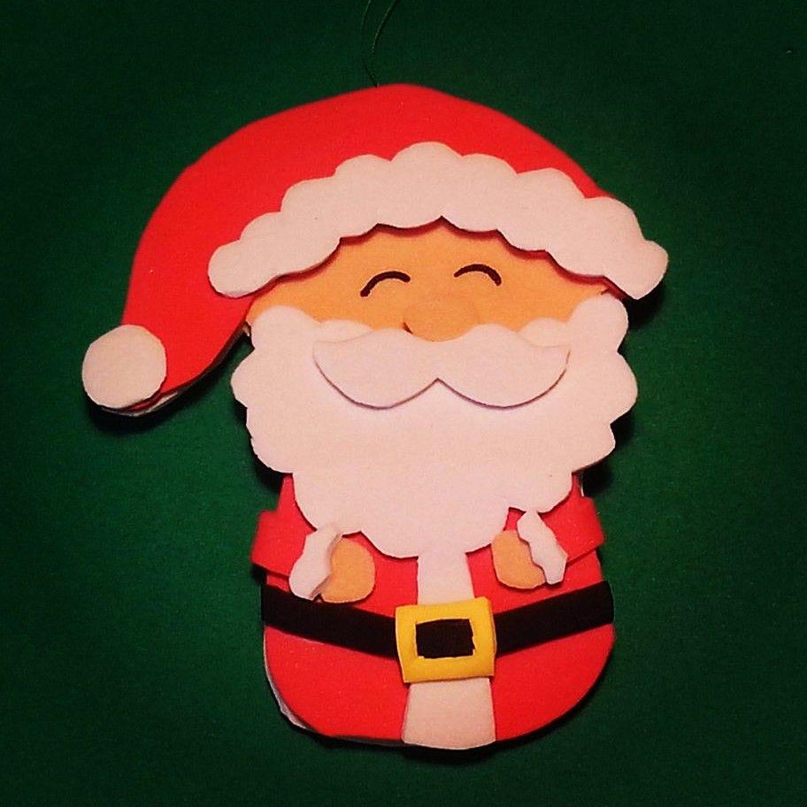 Adornos de navidad de goma eva navidad pinterest - Manualidades navidad goma eva ...