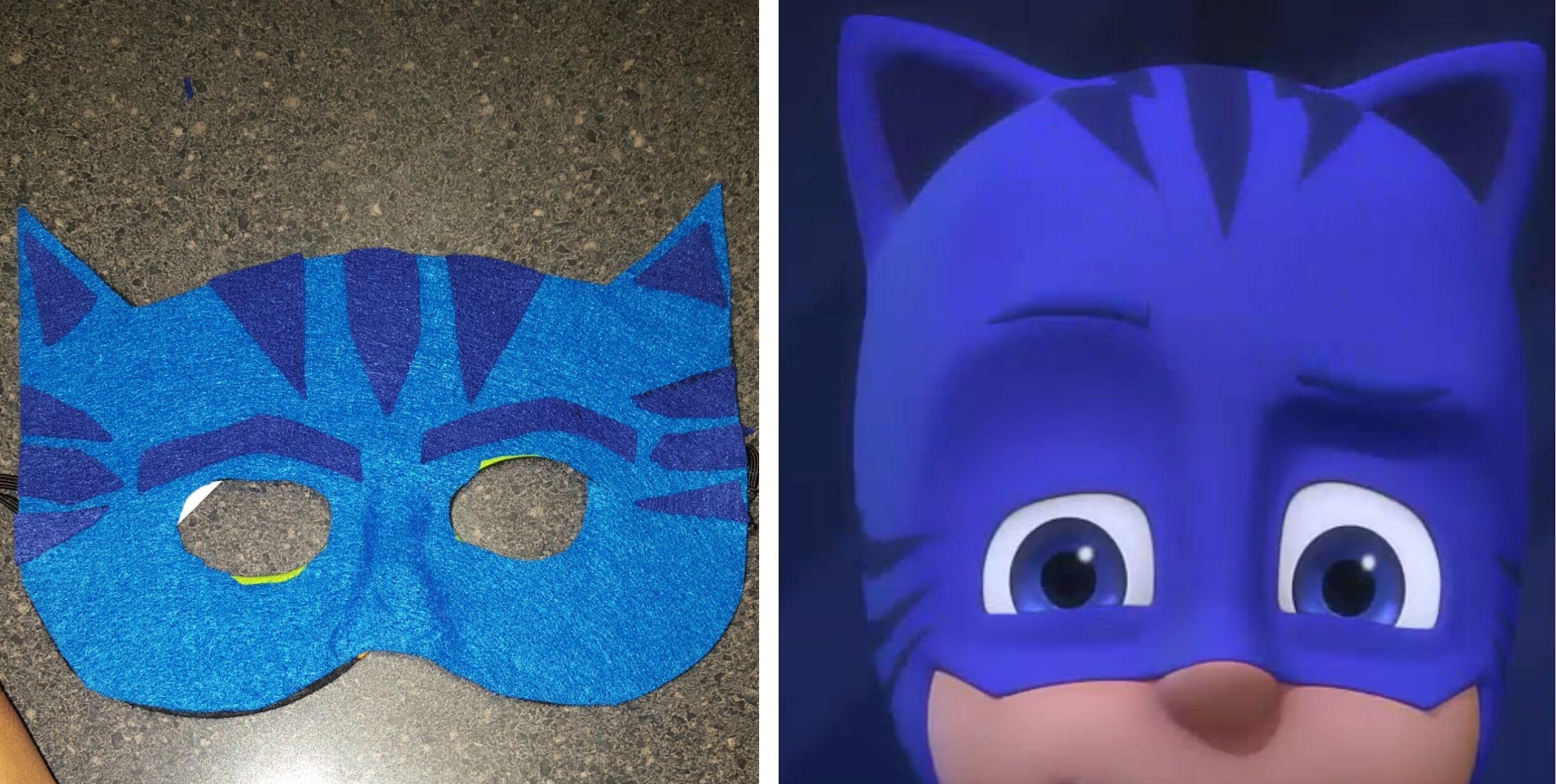 mask for pj masks diy catboy halloween costume diy pj masks catboy