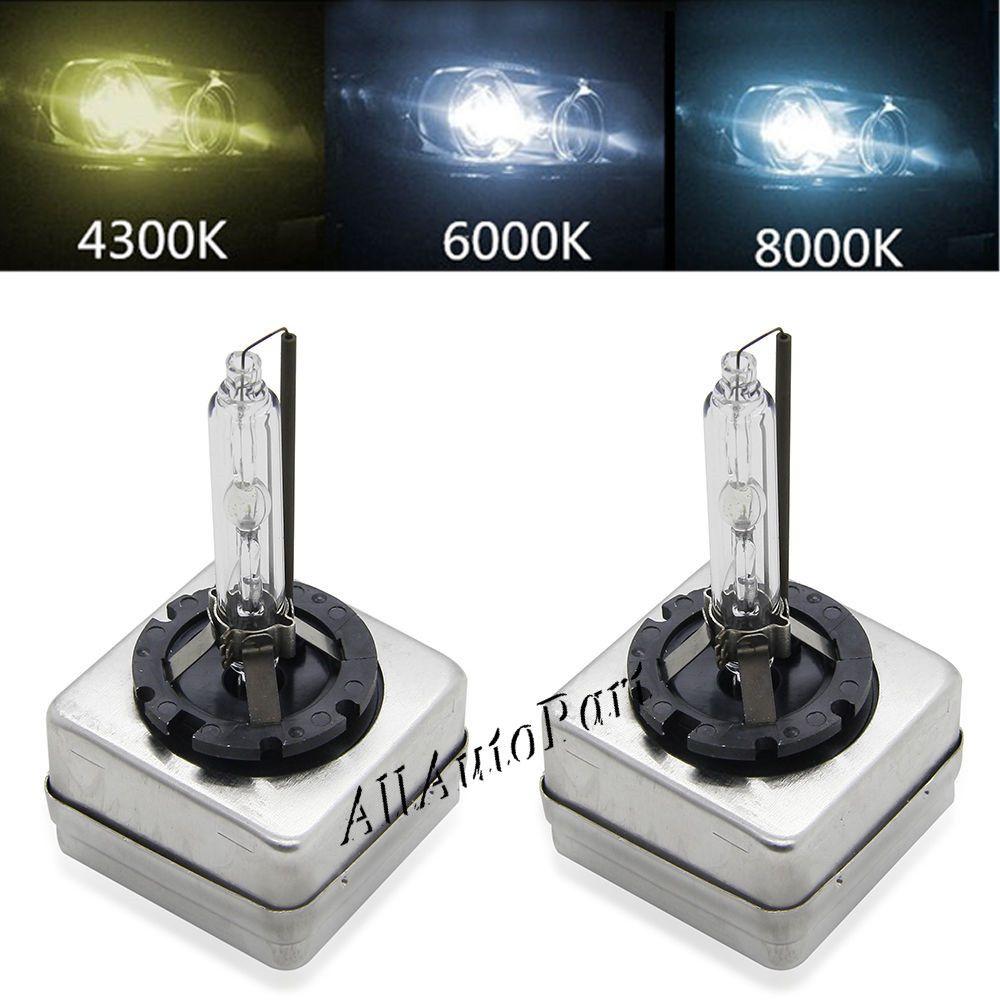 35w Hid Xenon Bulb D1s D2s D3s D4s Auto Car Headlight Replacement Kit 12v 4300k 5000k 6000k 8000k 10000k 12000k Hid Bulbs Car Headlight Bulbs Car Lights