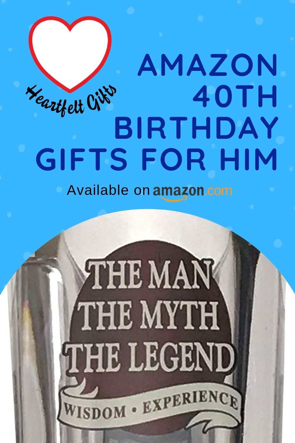 Amazon 40th Birthday Gifts for Him 40th birthday gifts