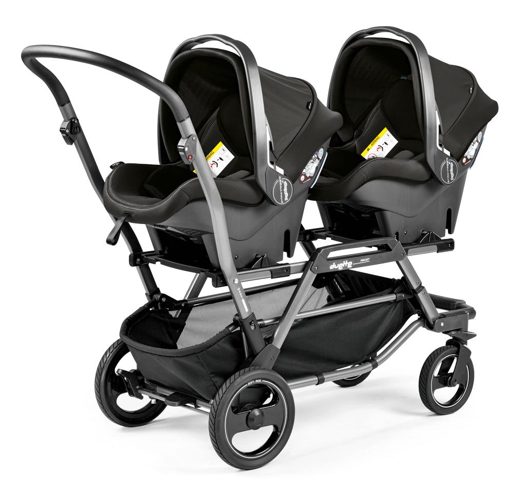 Twinstrollerduettepiroet2carseat1 Twin strollers