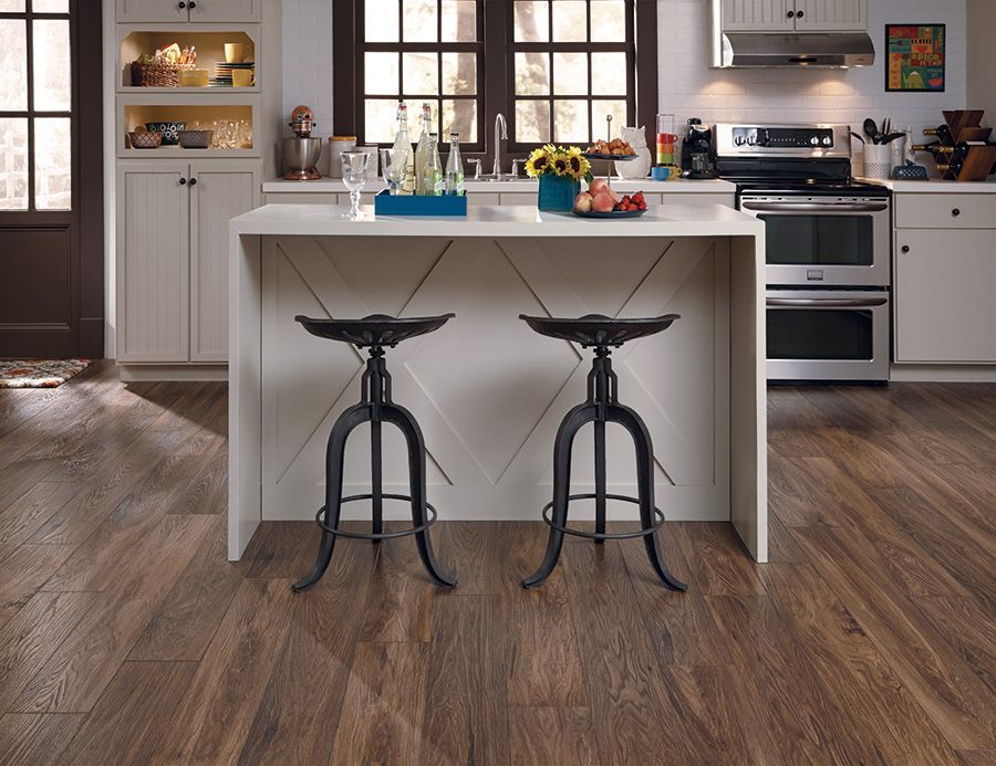 3 Ways To Make A Small Kitchen Feel Bigger Coles Fine Flooring Kitchen Flooring Options Kitchen Flooring Best Flooring For Kitchen
