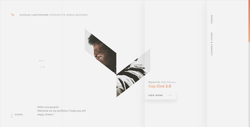 Best Web Designs 2016 May Update Minimalist Web Design Portfolio Web Design Portfolio Website Design