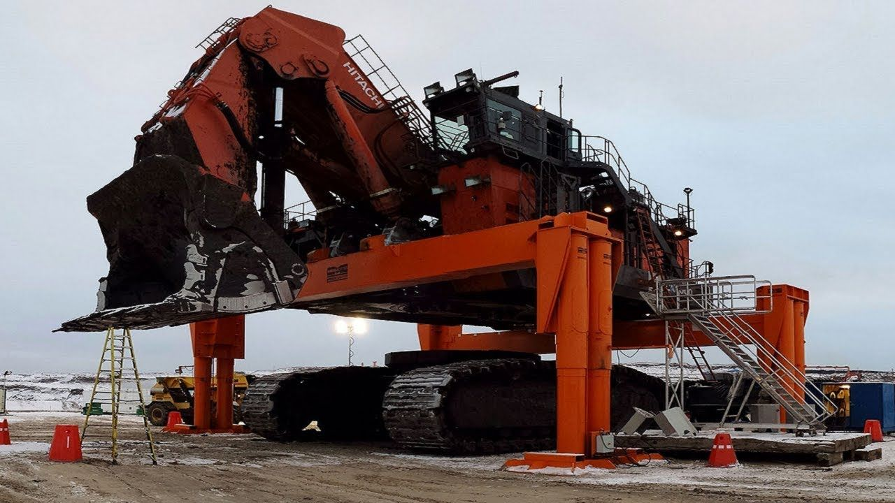 Biggest Heavy Excavator Construction Bulldozer In The