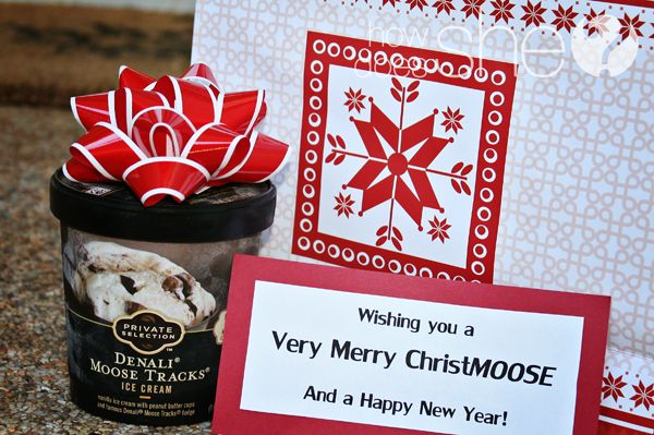 Over 36 Neighbor Gift Ideas and Counting Moose, Christmas gifts