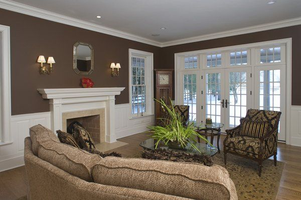 Homeowner Selected Paint Color Sherwin Williams Sturdy Brown .