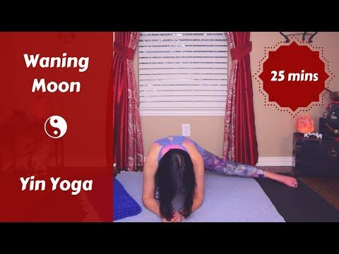 waning moon lunar yin yoga snack  release  let go 25