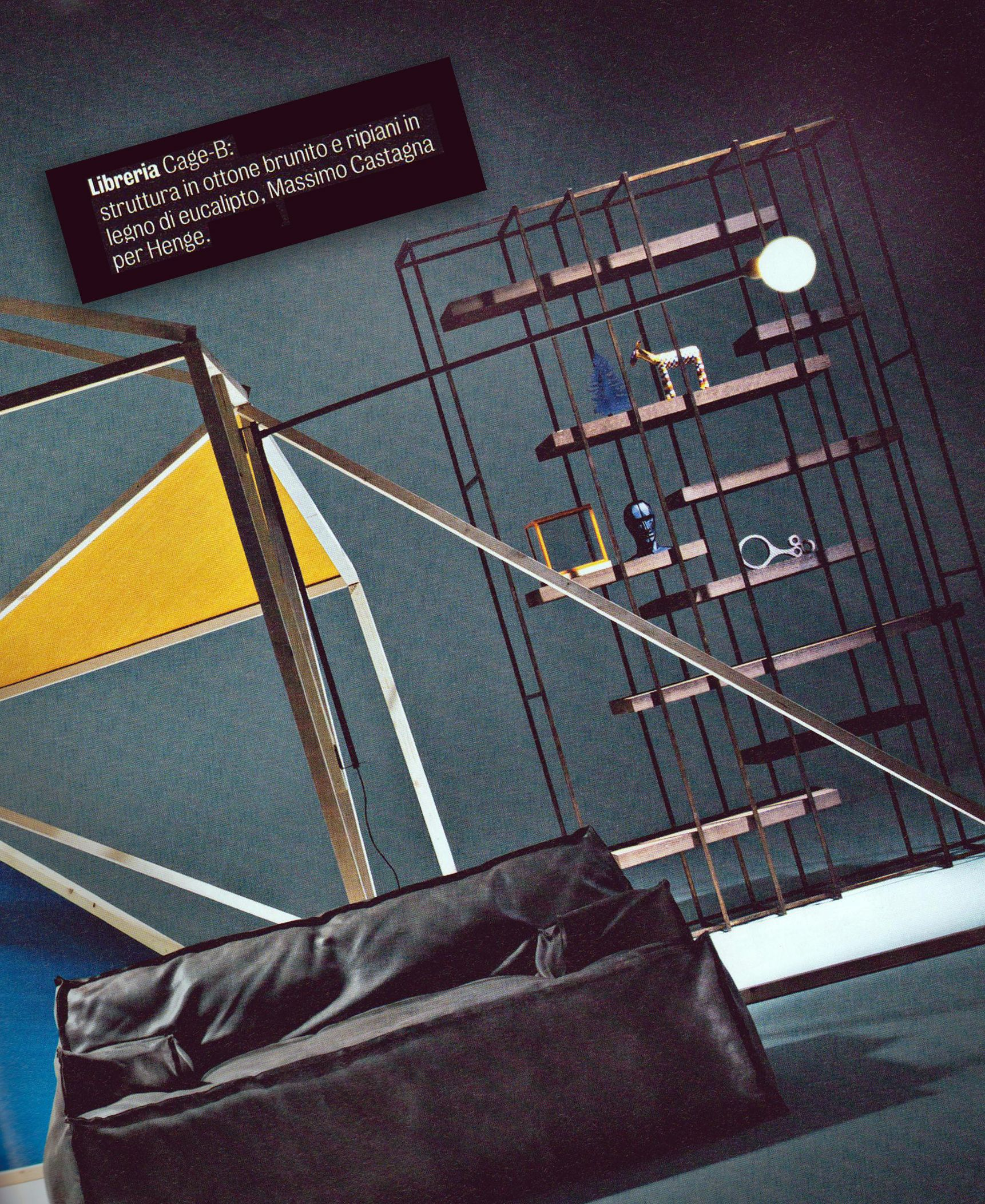 Cageb designed by massimo castagna for henge appeared