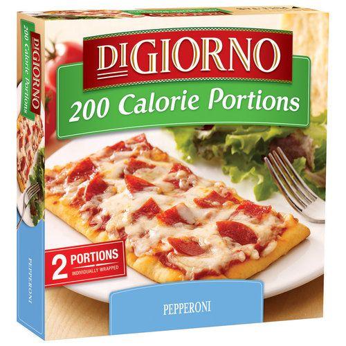 DiGiorno Smalls 200 Calorie Portions Pepperoni Pizza, 6 Oz