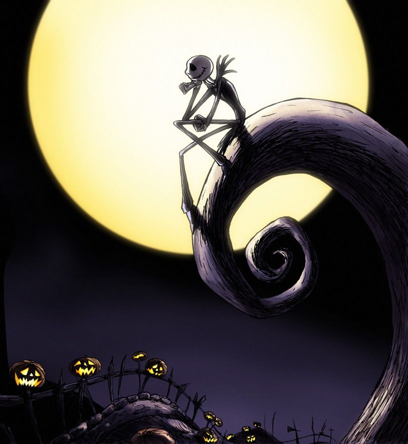 welcome to the jack and sally thread jack skellington is the pumpkin king of halloween town he goes and finds a new place which amuses him called - Halloween Jack Skeleton