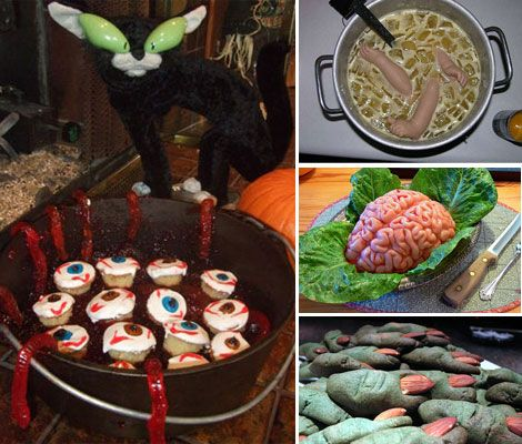neato 10 creepy and scary halloween food - Creepy Foods For Halloween Party