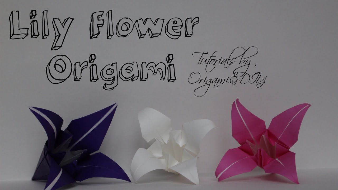 Origami lily flower easy and fast tutorial for beginners origami lily flower easy and fast tutorial for beginners izmirmasajfo