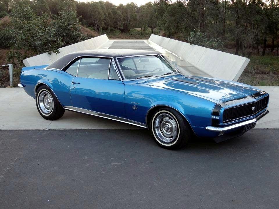 Chevy 67 Chevelle Marina Blue