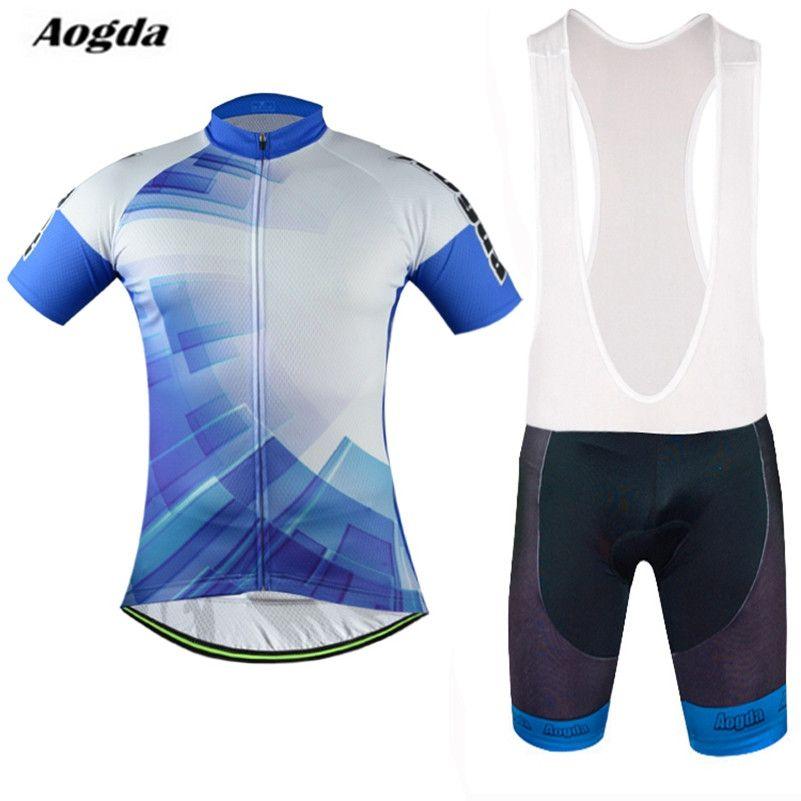 Cycling Bike Short Sleeve Clothing Set Bicycle Men Wear Suit Jersey+Shorts M-XXL