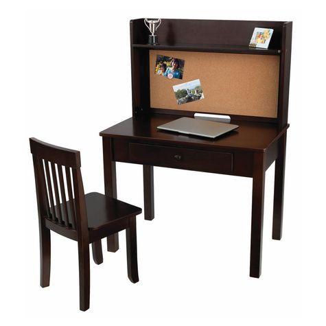Kidkraft Pin Board Desk With Hutch Amp Chair Shopko Kid