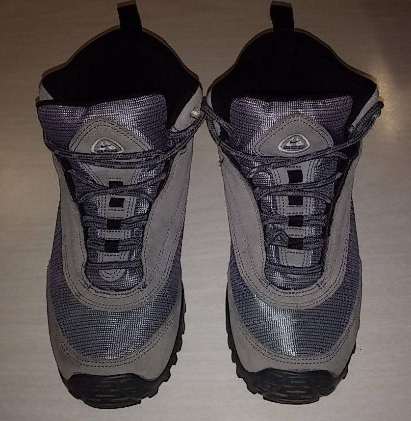 Womens Nike ACG All Trac Size 10 Hiking Boots Gray Blue  Nike  HikingTrail 5d3326ce7d
