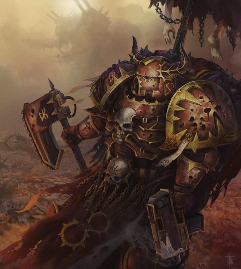 Chaos Space Marine | Chaos and Xenos | Pinterest | Space ...