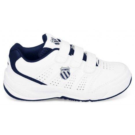 De #KSwiss Ultrascendor Strap #tennisschoenen voor kinderen zijn lichtgewicht schoenen met een handige klittenbandsluiting. #dws