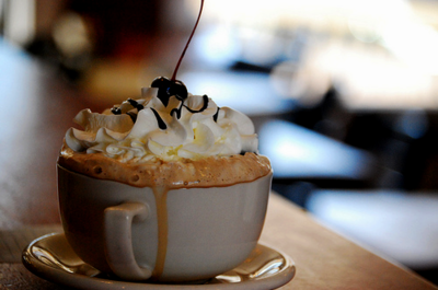 A good mocha is always in style!