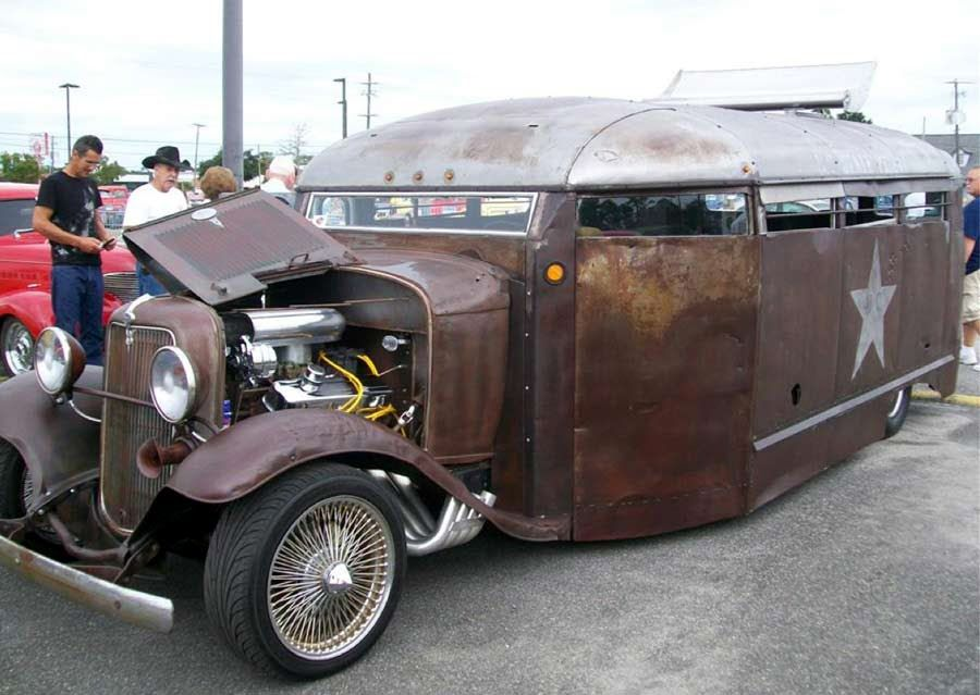 rat rod | See a gallery of the above South carolina prison bus rat ...