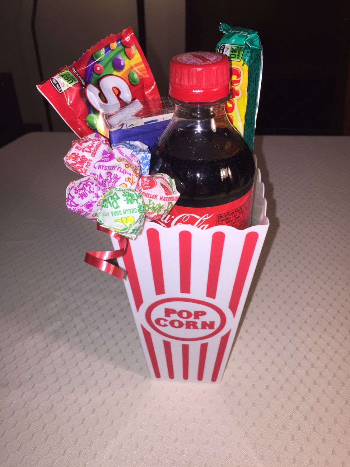 Popcorn Gift Basket By Lechunkeymonkey On Etsy Holidays