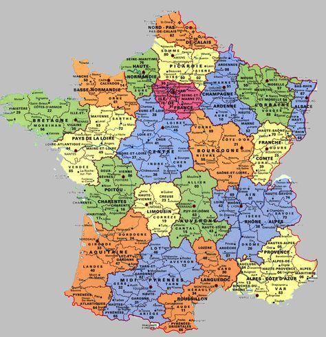 Régions de France : Aquitaine et Midi-Pyrénées et une ...