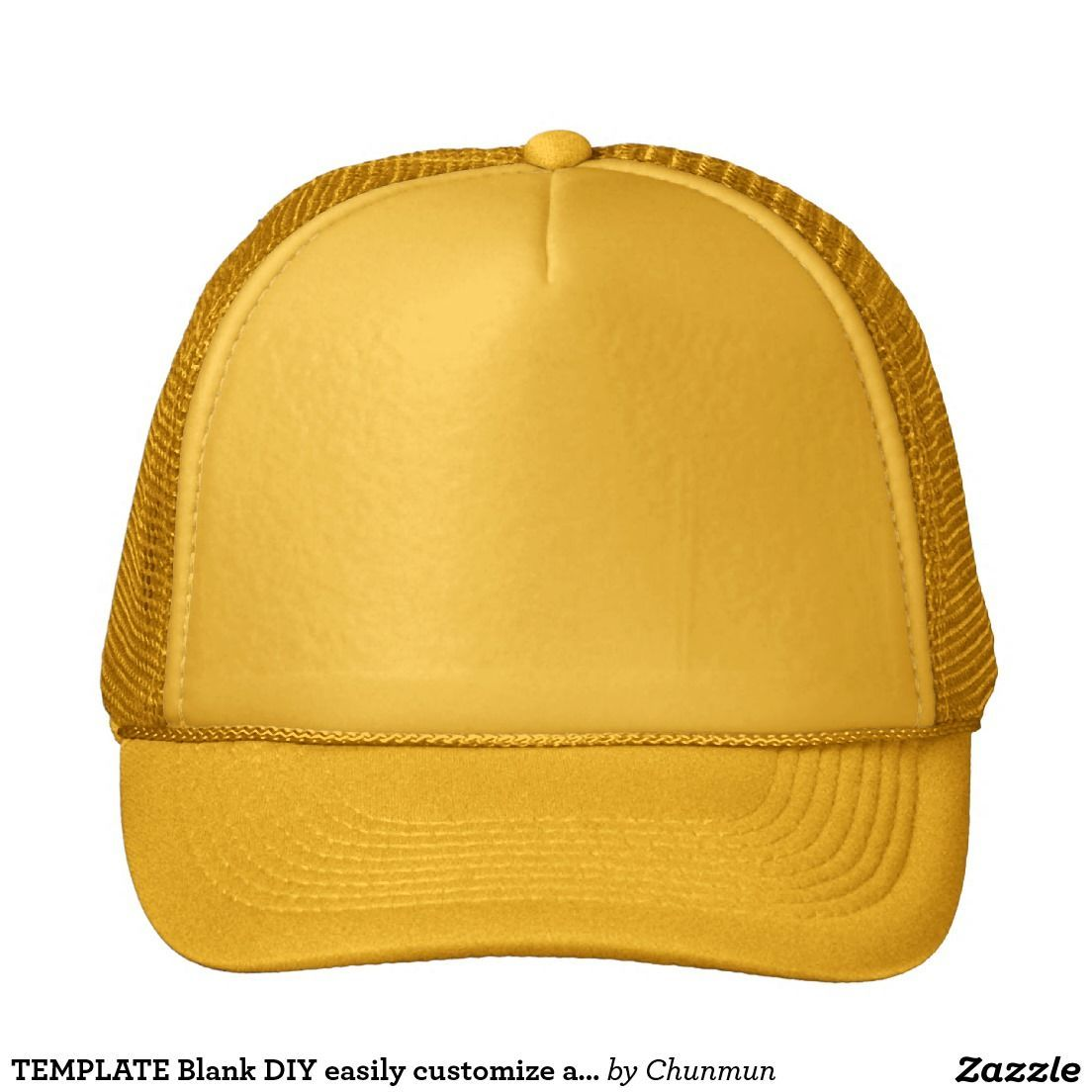 Template Blank Diy Easily Customize Add Text Photo Trucker Hat Zazzle Com Skincare Skin Clearskin Antiaging Collagen Hea Trucker Hat Hats Add Text Photo