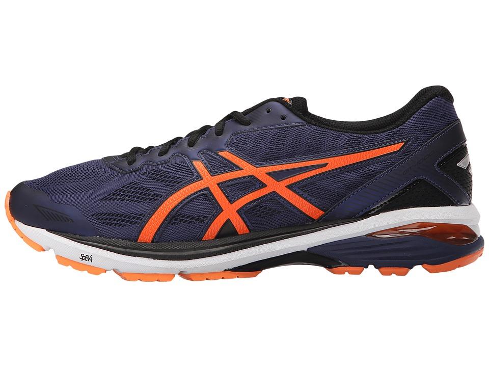 Chaussures Orange de course pour hommes 1000 ASICS hommes GT 1000 5 Bleu indigo/ Orange chaud/ Noir f653c87 - wartrol.website