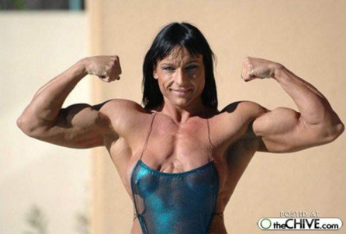 Excellent variant female bodybuilder piss pics