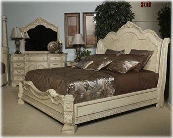 Perfect Ashley Ortanique Queen Sleigh Bed Inu2026