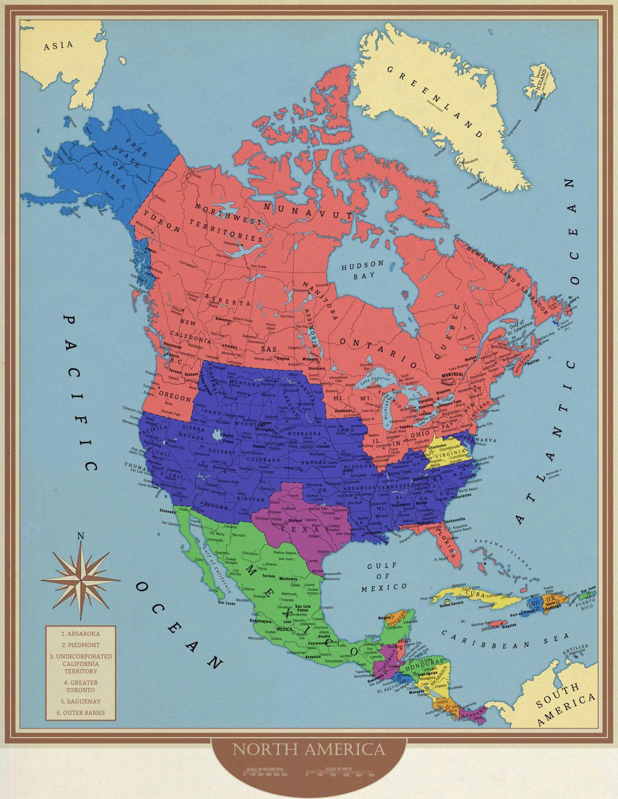Pin Af Per Holm Pa Geografi Nordamerika Kort Caribien