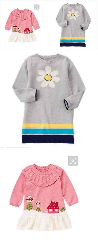 512184e8965d9 Sweaters 147216: Gymboree Lot Nwt 5T Cozy Owl Scenic And Flower ...