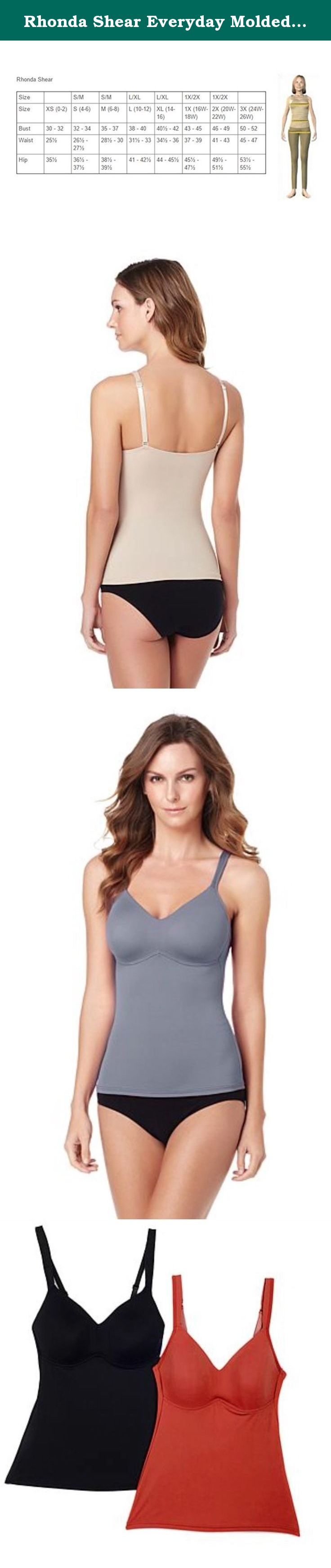 cf8d587156f58 Rhonda Shear Everyday Molded Cup Camisole ~ Rose (3X). Searching for a  secret