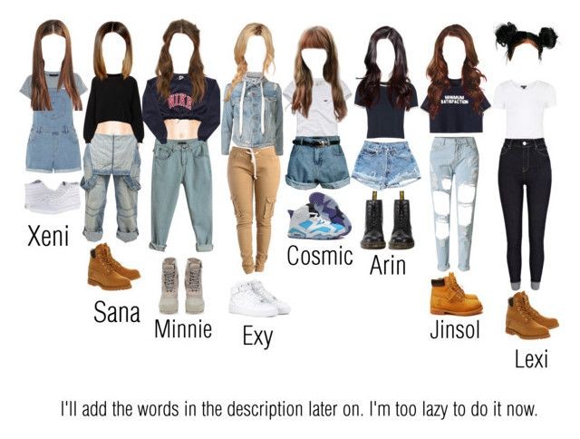 """""""The Dolls on their very 1st V App Live"""" by thedolls-official ❤ liked on Polyvore featuring NIKE, Topshop, River Island, Timberland, New Look, Crafted, Dorothy Perkins, NSF, Hollister Co. and Vans"""