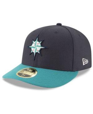 New Era Seattle Mariners Batting Practice Diamond Era Low Profile 59FIFTY  Cap - Blue 7 1 4 8504f028d469